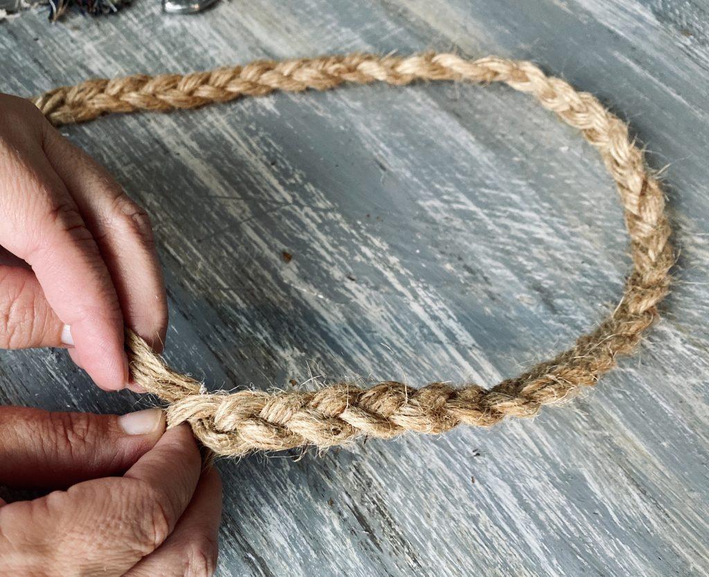 braiding rope