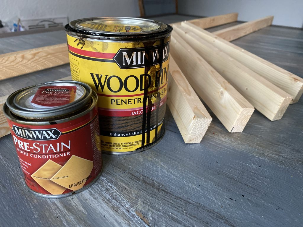 choose stain color