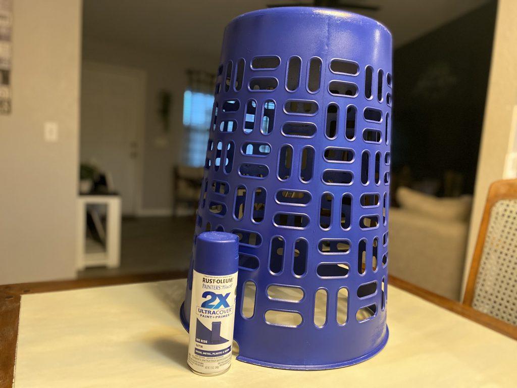 spray paint hamper